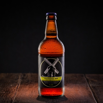 graphic design recent work beer bottle 1 image